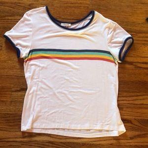 Rainbow tee shirt